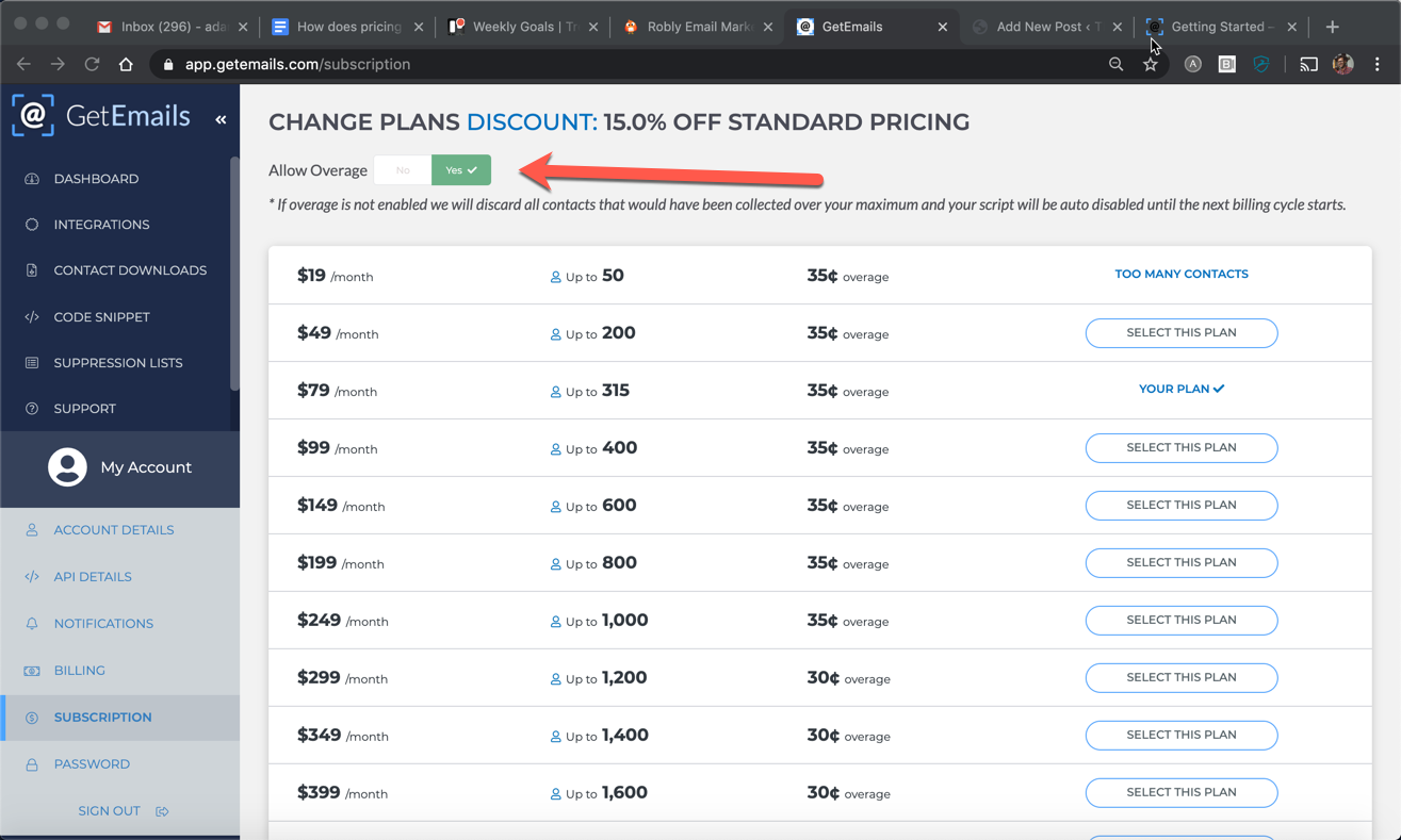 How does pricing work?